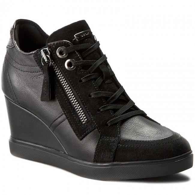 Sneakers GEOX D Eleni D D6467D 02285 C9999 Black