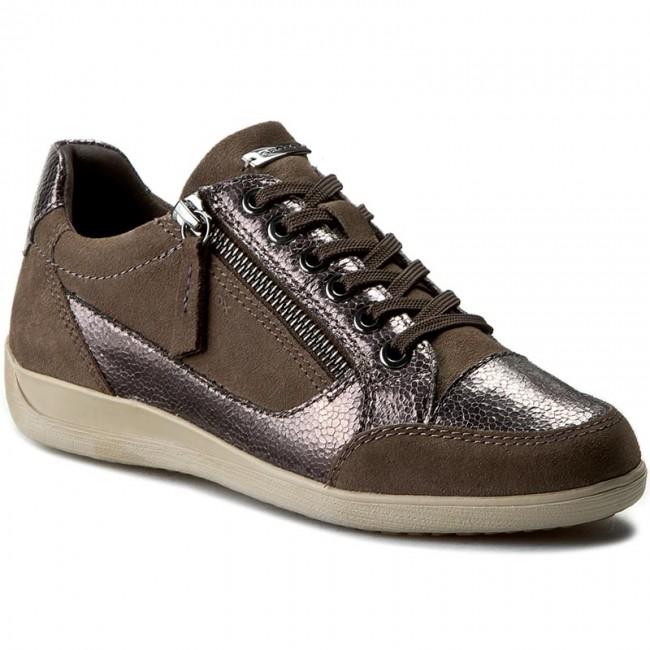 Sneakers GEOX D Myria A D6468A 022PV C6J1G ChestnutGun
