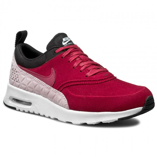 Shoes NIKE W Nike Air Max Thea Prm Lth 845062 600 Noble RedNoble RedBlack