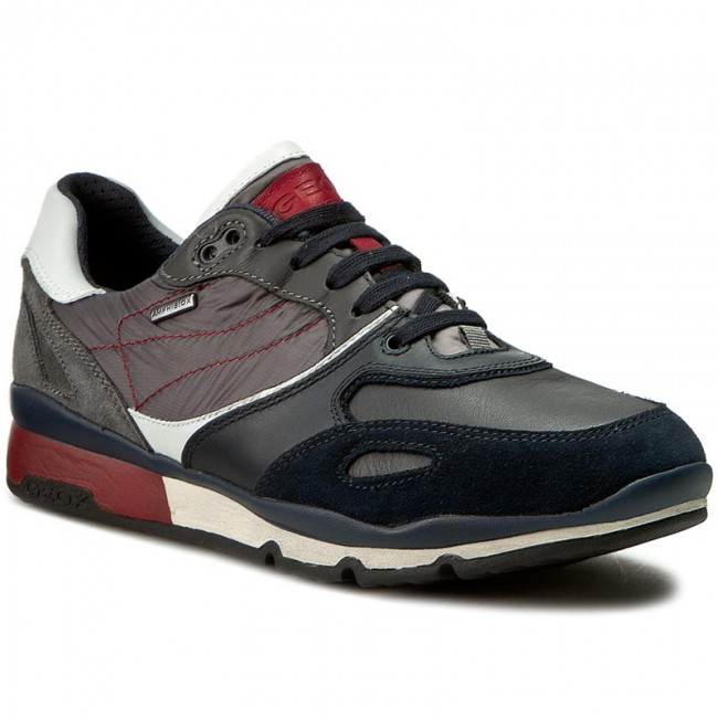 Sneakers GEOX - U Sandro B Abx A U44S7A 022FU CF49A Navy ... Caterpillar Shoes