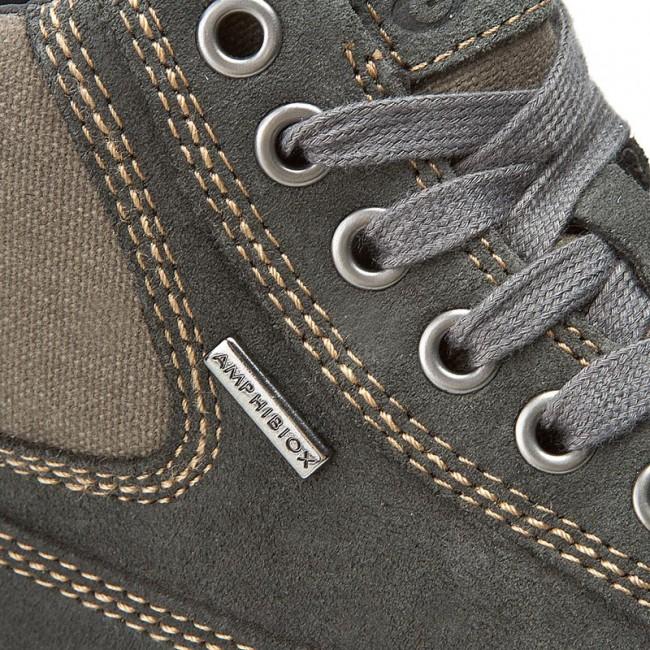 Descompostura esfuerzo Emigrar  Boots GEOX - U Mattias B Abx B U44T1B 00023 C9004 Antracyt - Boots - High  boots and others - Men's shoes | efootwear.eu