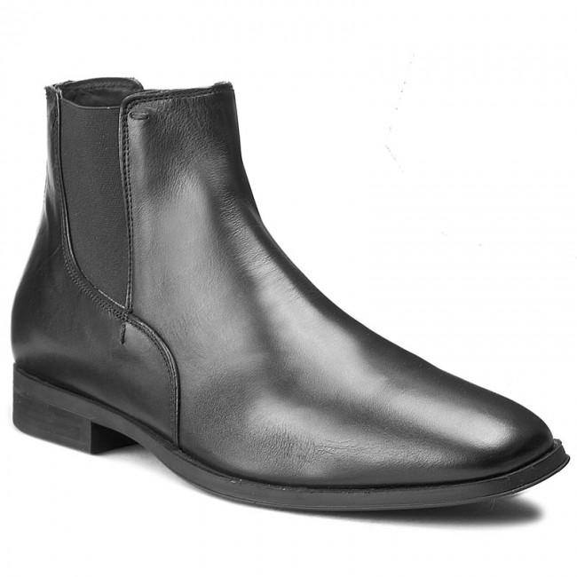 Consciente sensación Estación  Ankle Boots GEOX - U Pericle A U640RA 00043 C9999 Black - Chelsea boots -  High boots and others - Men's shoes   efootwear.eu