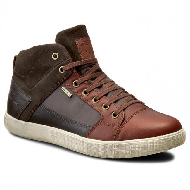 Sneakers GEOX U Taiki B Abx A U641UA 0FV23 C6890 Lt BrownChestut