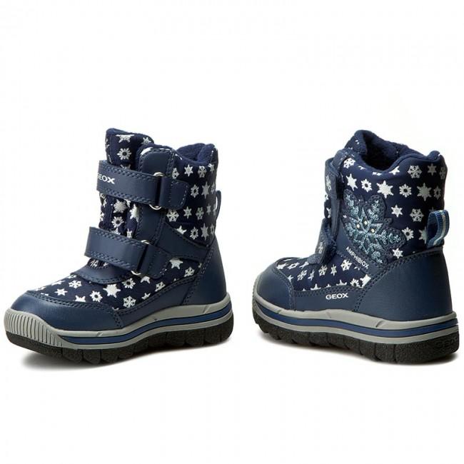 snow boots geox j overland b j640fd 0mnce c4002 morski