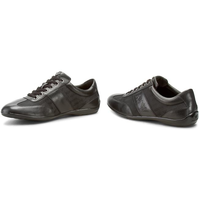 68590bf168 Sneakers ARMANI JEANS - 935534 CC506 00020 Nero - Sneakers - Low ...