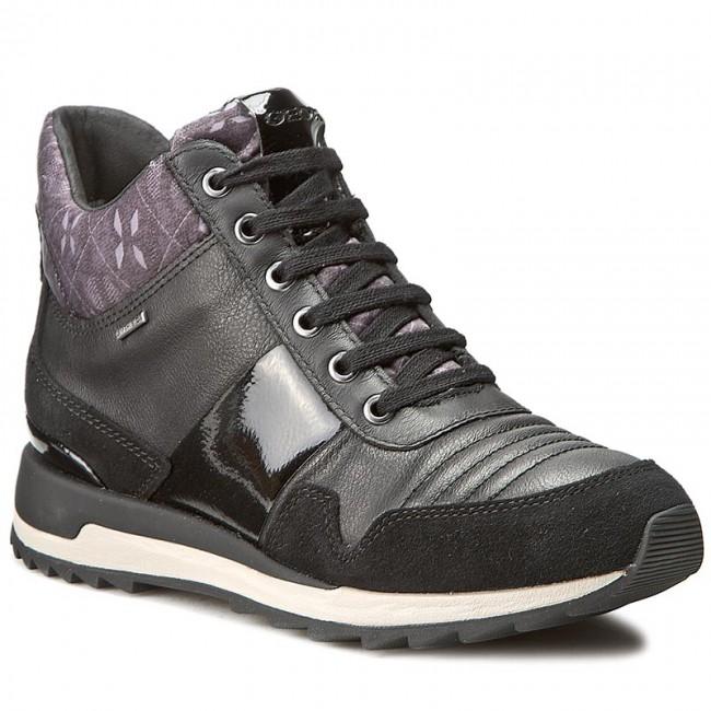 Sneakers GEOX D Aneko B Abx B D643FB 022BN C9999 Black
