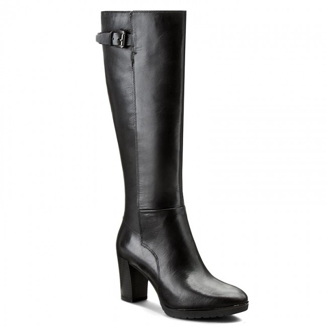 saluto senza casa sposato  Knee High Boots GEOX - D Raphal Mid C D643WC00043C9999 Black - Jackboots -  High boots and others - Women's shoes | efootwear.eu