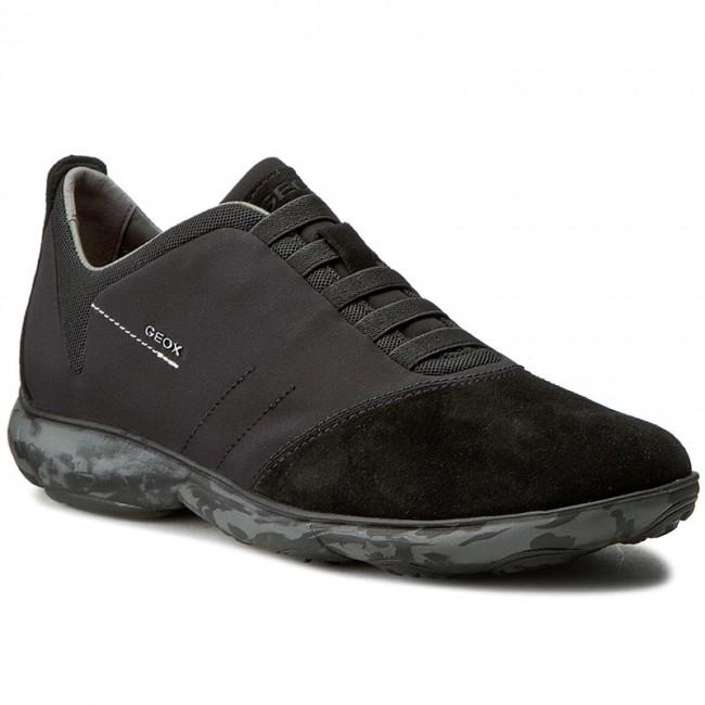 Shoes GEOX U Nebula F U62D7F 01122 C9999 Black