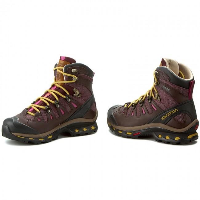 Trekker Boots SALOMON Quest Origins 2 Gtx W 390274 20 G0 Pinot NoirBitter Choc Ltrmaize