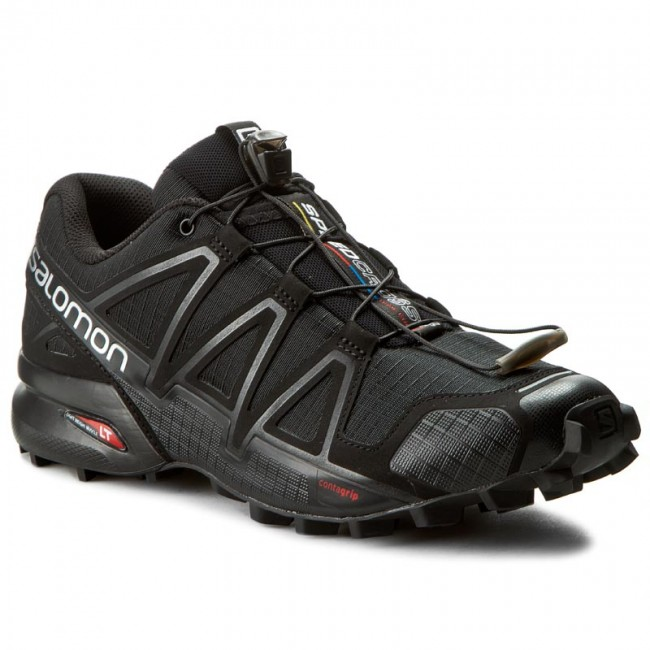 4 Shoes 26 Blackblackblack Speedcross 383130 Metallic V0 Salomon cAj4q35LR