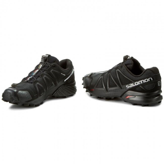 Shoes SALOMON Speedcross 4 383130 26 V0 BlackBlackBlack Metallic