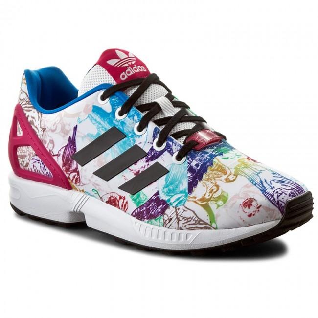 Shoes adidas - Zx Flux J S76285 Ftwwht