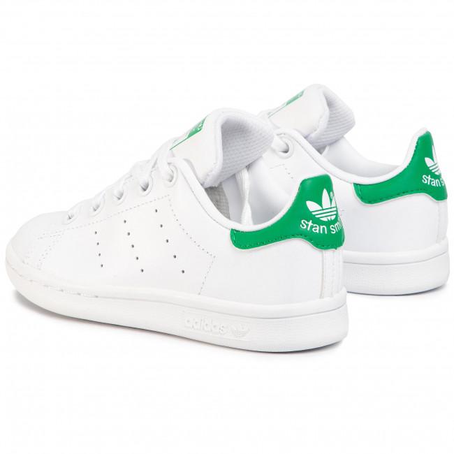 Shoes adidas Stan Smith C BA8375 FtwwhtFtwwhtGreen