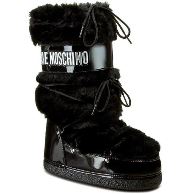 new styles 29aa9 c9c1e Snow Boots LOVE MOSCHINO - JA24172G02JV0000 Nero
