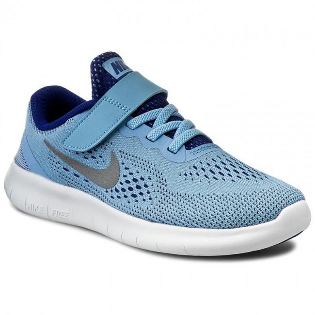 nike free rn psv Shoes NIKE - Free Rn (Psv) 833995 401 Blcp/Mtllc Slvr/Dp Ryl Bl ...