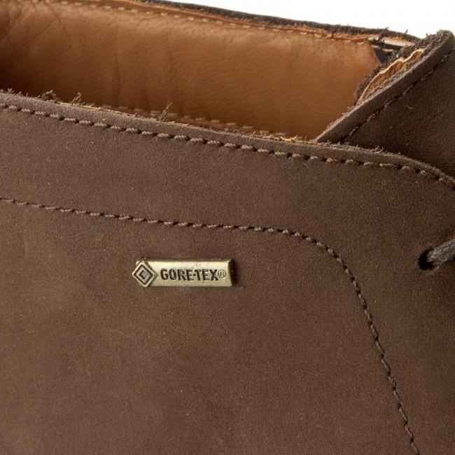 1f39b9d60c893 Boots CLARKS - Chilver Hi GTX GORE-TEX 261125007065 Dark Brown Nub ...