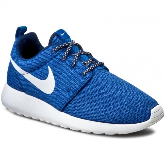 Shoes NIKE Roshe Run 844994 400 Coastal BlueWhiteBlue Spark