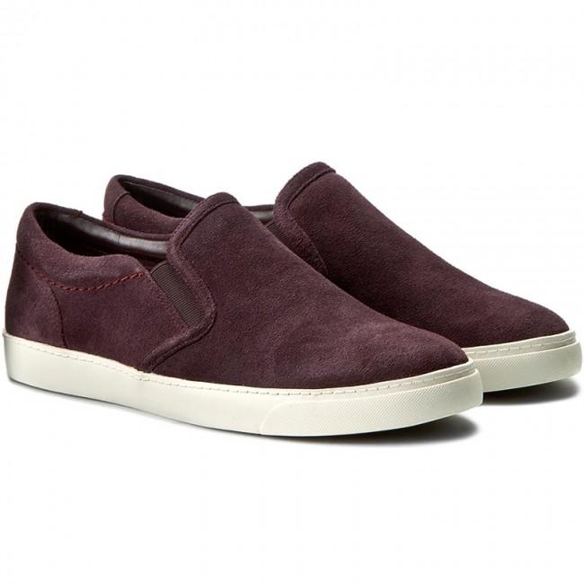 Aubergine Shoes Men
