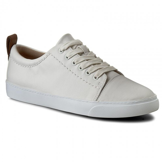 9358fb45ba8 Sneakers CLARKS - Glove Echo 261186374 White Leather