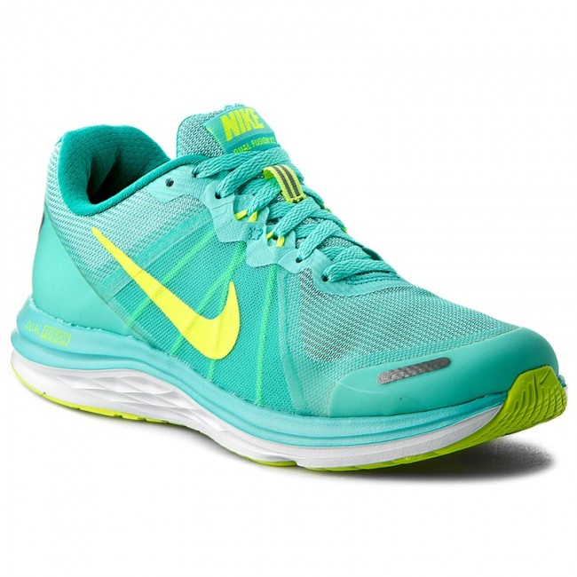 in stock lowest discount size 7 Shoes NIKE - Nike Dual Fusion X 2 819318 300 Hyper Turq/Volt/Clr Jade/White