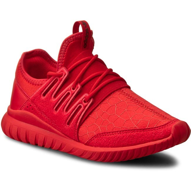 adidas tubular radial red