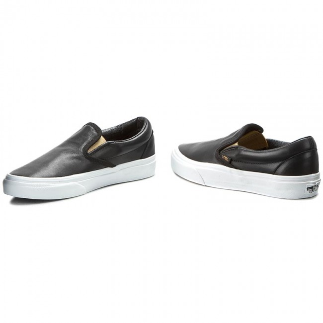 Schuhe Vans Classic Slip On Metallic GoreBlackGold
