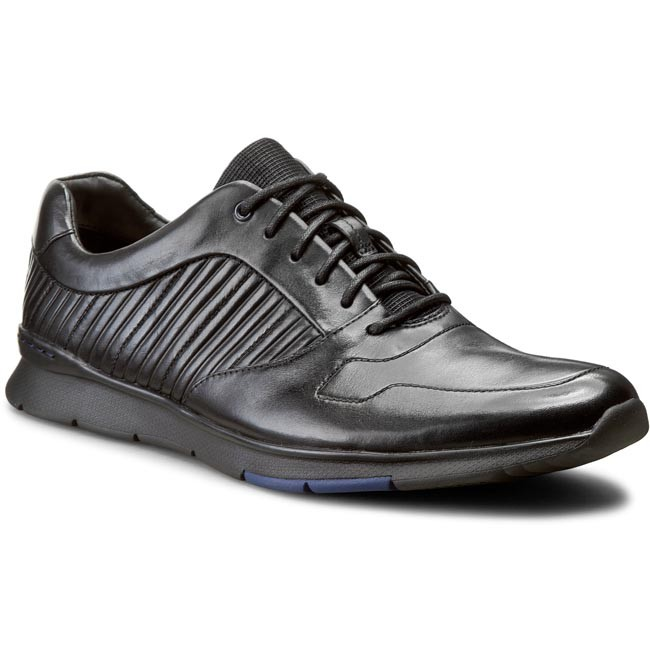 bolsillo Exitoso Turismo  Shoes CLARKS - Tynamo Race 261199087 Black Leather - Casual - Low shoes -  Men's shoes | efootwear.eu