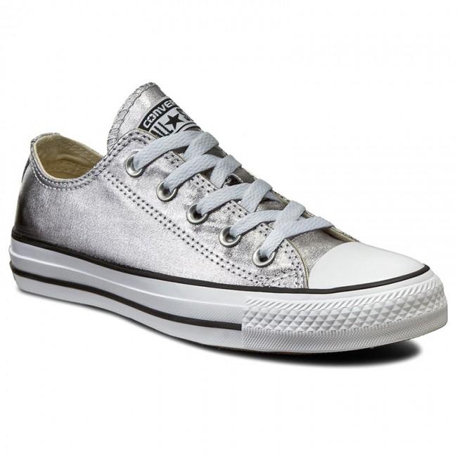 Sneakers CONVERSE - Ctas Ox 153180C Gunmetal/White