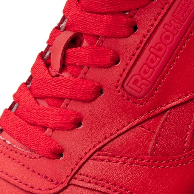 Shoes Reebok Cl Leather Solids BD1323 Scarlet