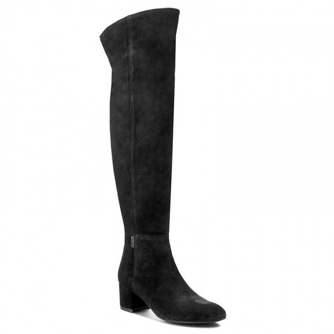 Over-Knee Boots NESSI - 881/N Czarny W