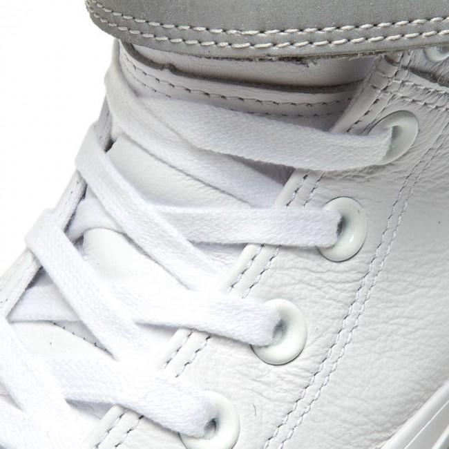 Sneakers CONVERSE - Ctas Brea Reflective Hi 553423C White/Silver/White