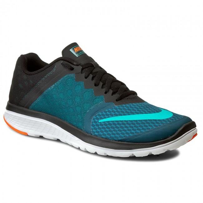 Shoes NIKE - Fs Lite Run 3 807144 301 Midnight Turq/Clr Jd/Blk