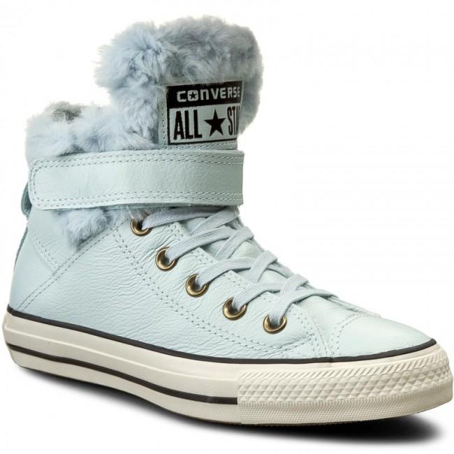 Sneakers CONVERSE - Ctas Brea Leath 553395C Polar Blue/Black ...
