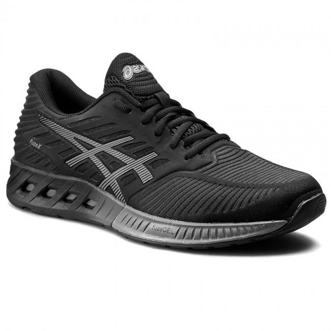 Shoes ASICS - FuzeX T639N Black/Shark/Black 9096