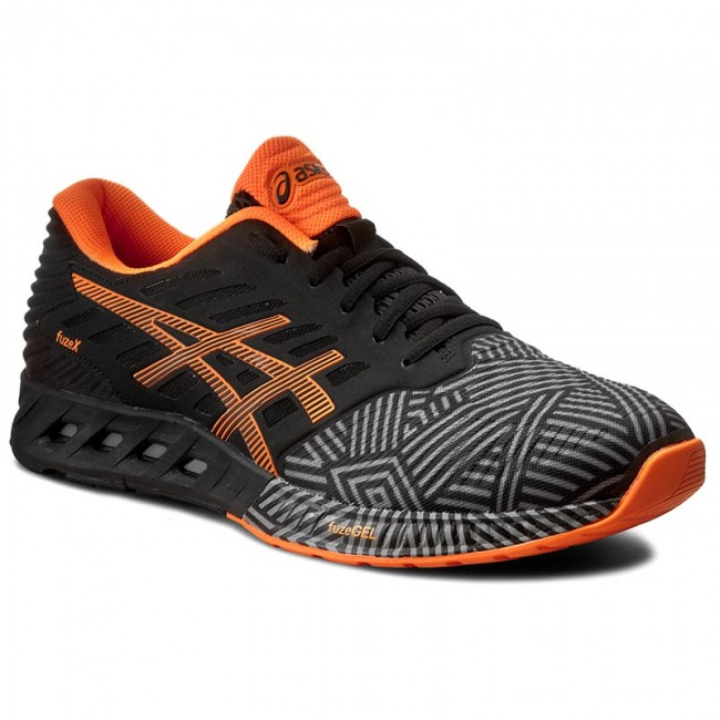 Shoes ASICS - FuzeX T6K3N Aluminum/Hot Orange/Black 9630