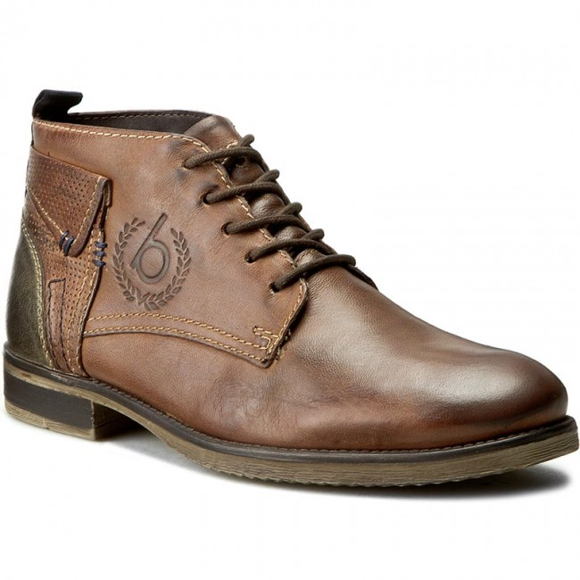buy good classic shoes more photos Boots BUGATTI - F9339-1G-600 Brown - Boots - High boots and others ...