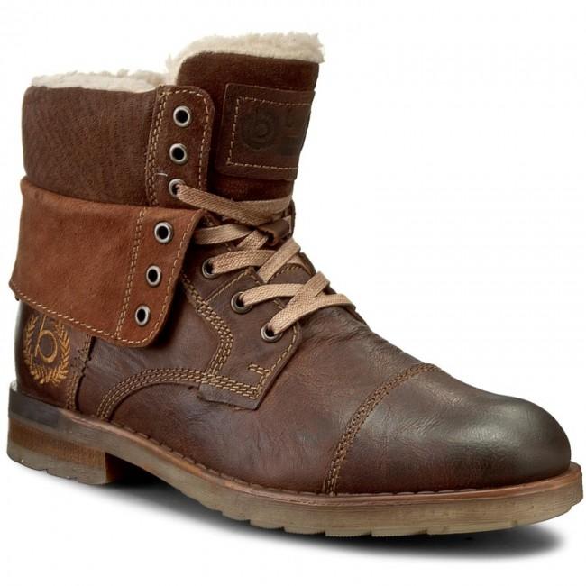 Knee High Boots BUGATTI K3050 1G 610 Dark Brown