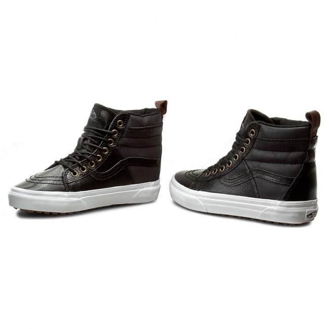 Sneakers VANS Sk8 Hi 46 Mte VN0A2XS2JTQ (Pebble Leather) Black