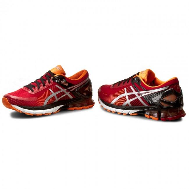 new style f5472 e3efc Shoes ASICS - Gel-Kinsei 6 T642N True Red/Silver/Hot Orange 2393