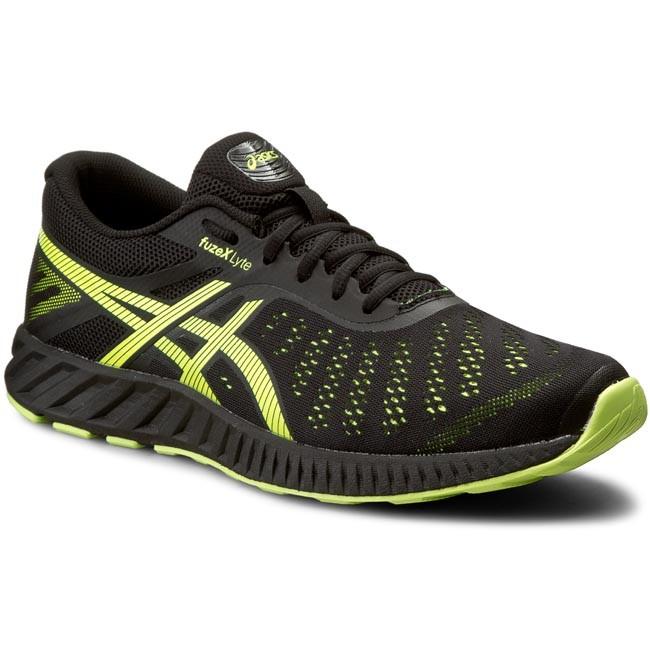 Shoes ASICS - FuzeX Lyte T620N Black/Safety Yellow/Onyx