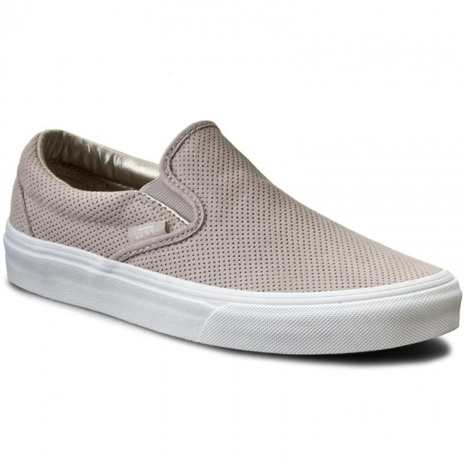 VN0004MPJRF (Perf Suede) Silver Cloud