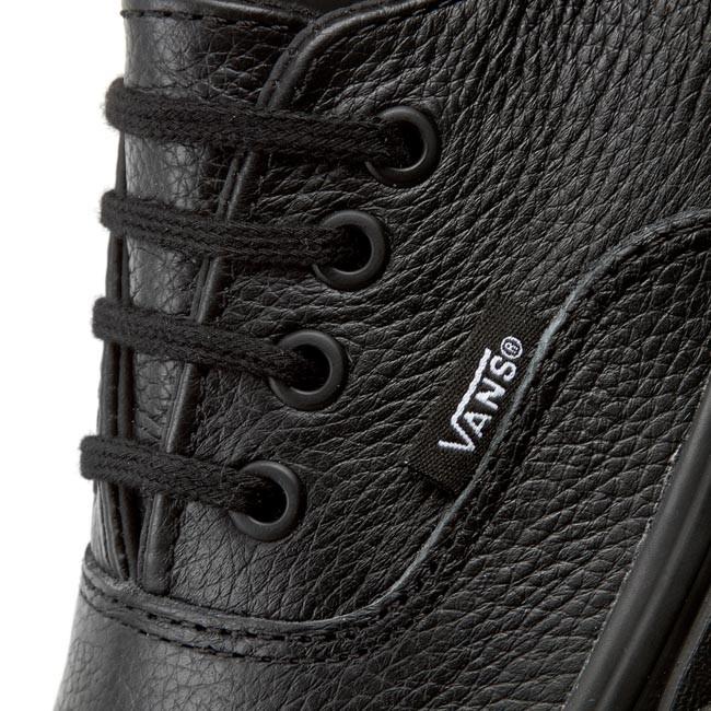 Plimsolls VANS Authentic Decon VN00018CGKM (Premium Leather) BlackBlack