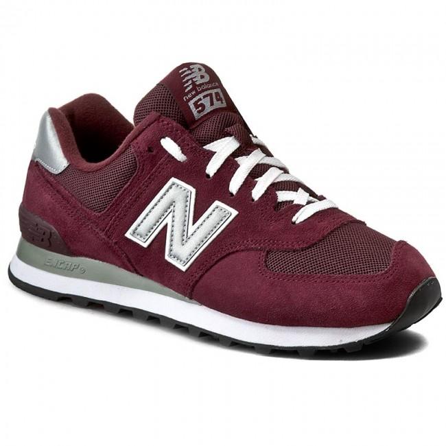 new arrival e1933 296ba Sneakers NEW BALANCE - M574NBU Dark Red