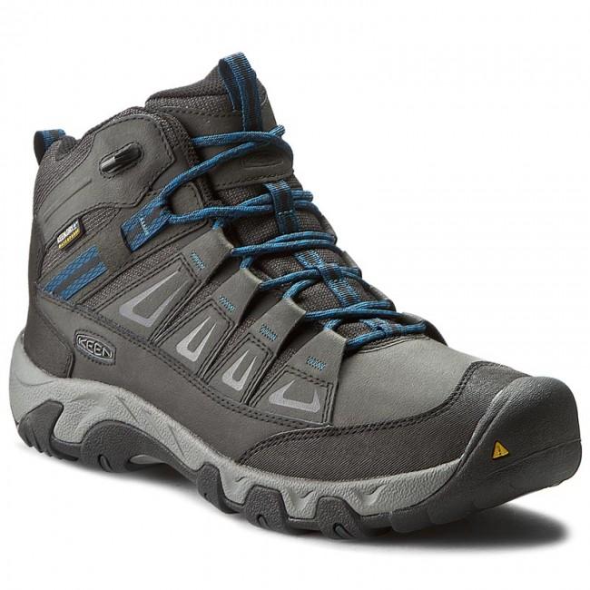 eca4b3134fb Trekker Boots KEEN - Oakridge Mid Polar Wp 1015425 Black/Ink Blue