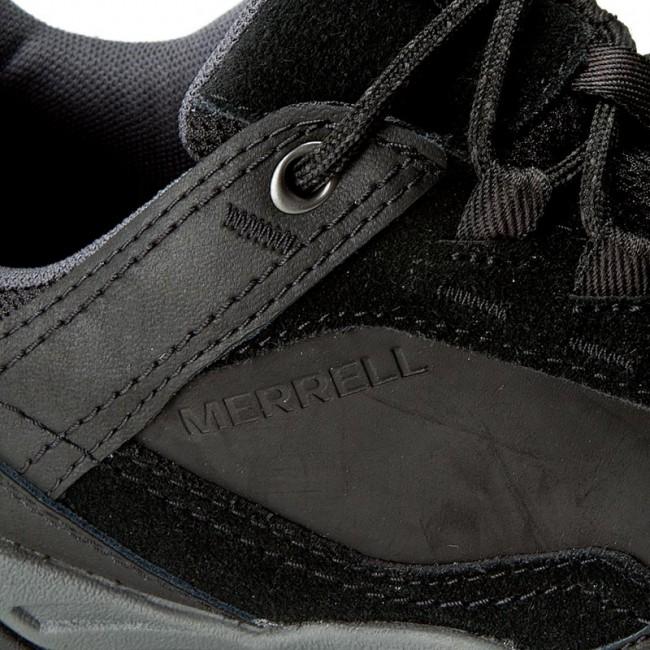 Trekker Boots MERRELL Helixer Scape J49559 Black Trekker
