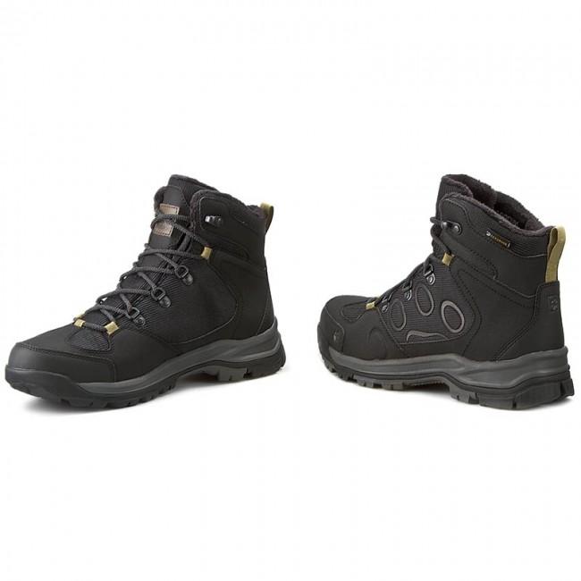 Trekker Boots JACK WOLFSKIN Cold Terrain Texapore Mid M 4020501 Black