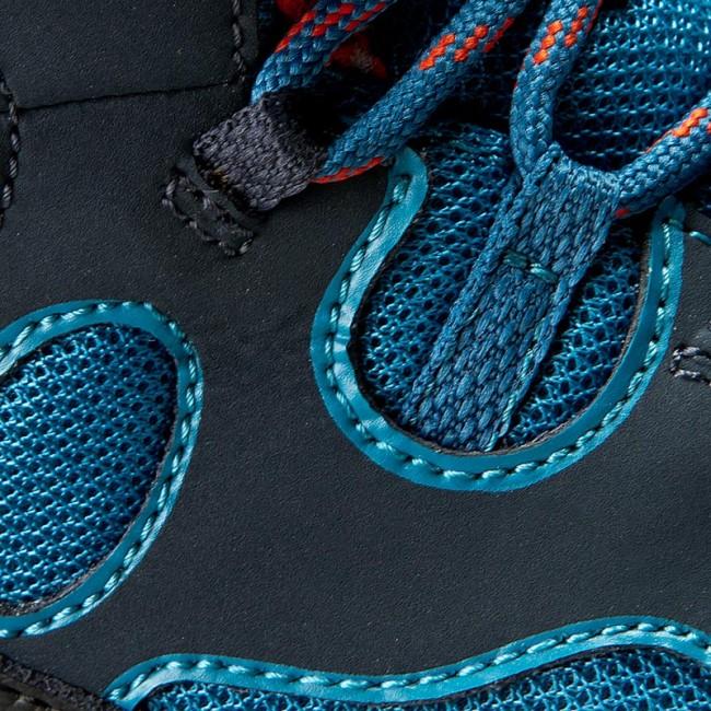 Trekker Boots JACK WOLFSKIN Crosswind Texapore Mid K 4015631 Glacier Blue
