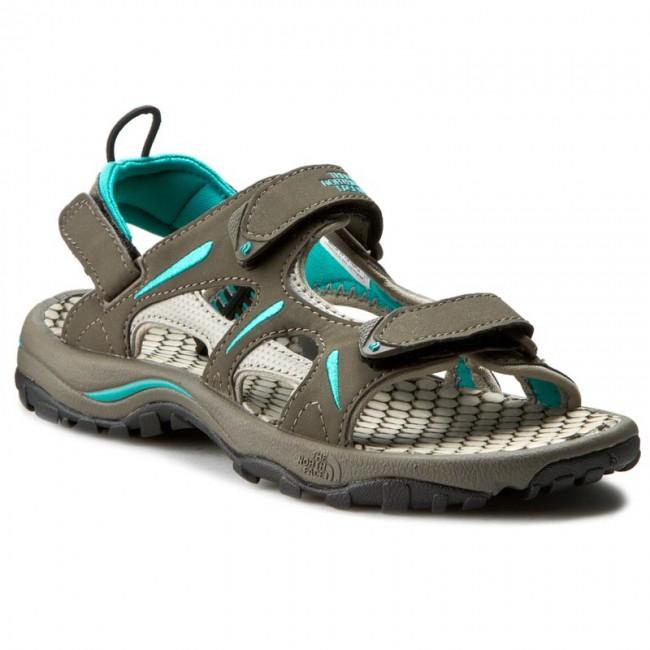 430d9d114 Sandals THE NORTH FACE - Hedgehog Sandal T0ALSEM6A W Shroom Brown/Jaiden  Green
