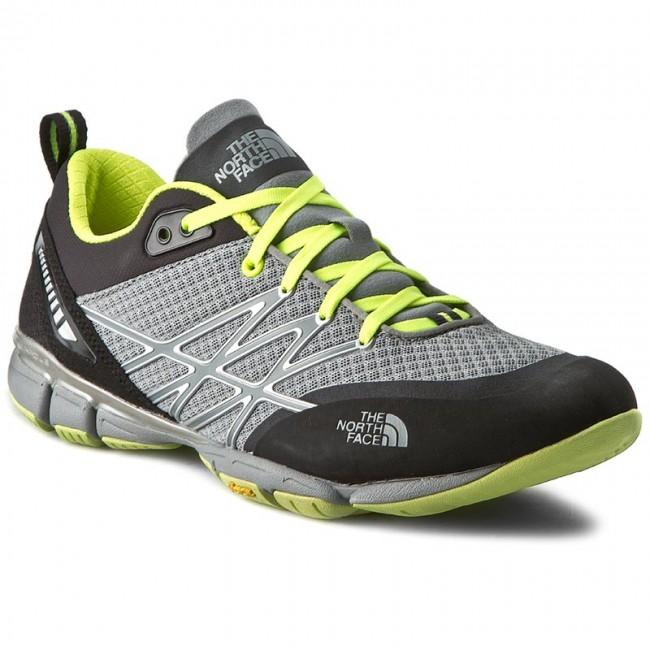 0c37e5685 Shoes THE NORTH FACE - Ultra Kilowatt T0CCF8M8Q Monument Grey/Dayglo Yellow