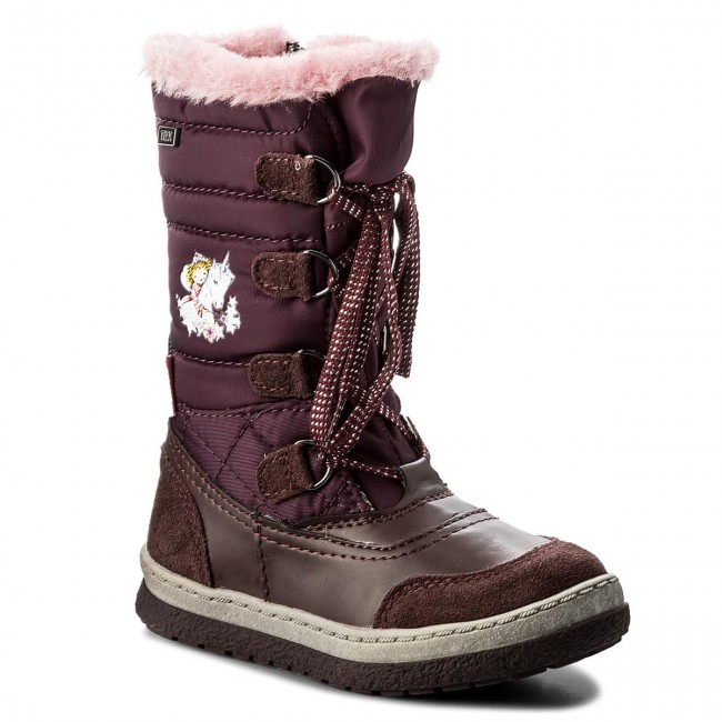 Prinzessin Lillifee Girls Warm Lining Boots red